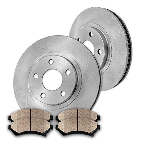 Callahan CK001152 [ STS / SLS ] FRONT Premium Grade OE 303 mm [2] Rotors + [4] Quiet Low Dust Ceramic Brake Pads Kit