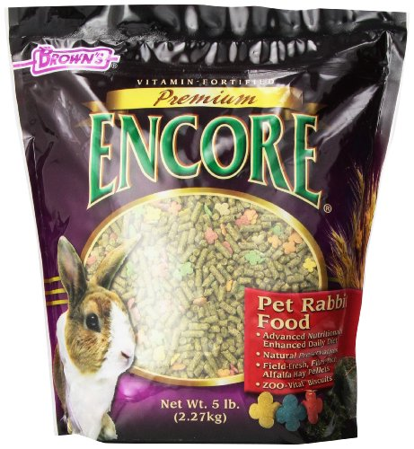 F.M. Brown's Encore Rabbit Food, 5-Pound