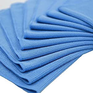 Youlixuess Best Kitchen Dish Car Clean Clean Windows & Mirrors Without Chemicals 3MM Microfiber Cleaning Cloth - 10 Pack