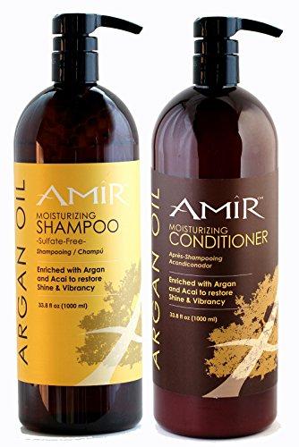 Amir Argan Sulfate Shampoo Conditioner
