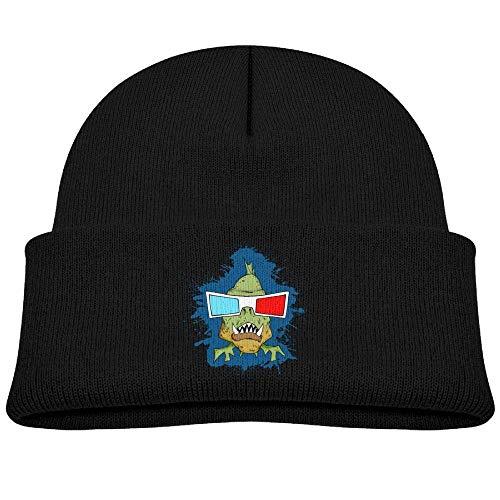 Knit Hat Beanies Caps Warm Skull Cap 3D Glasses Piranha Baby ()