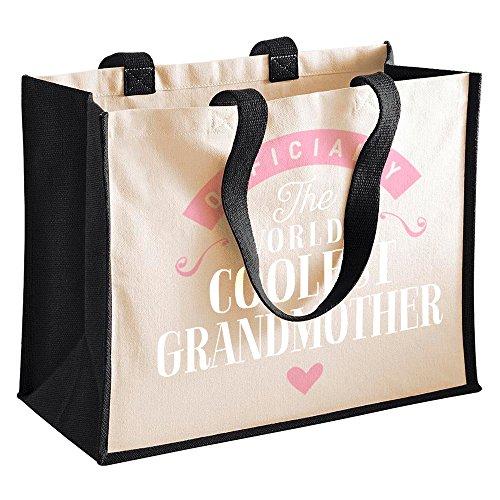 Funny Black Bag Grandmother Grandmother Birthday Bag Gift Grandmother Gifts Great From Grandmother Present Grandmother Grandmother Granddaughter Personalised Grandmother Gift Gifts Gifts Grandmother 1qtZqrx