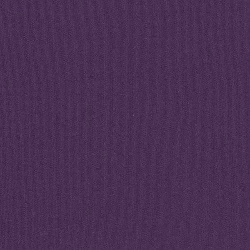 Laguna Fabrics Organic Cotton Sweatshirt Fleece Purple Fabric by The Yard,
