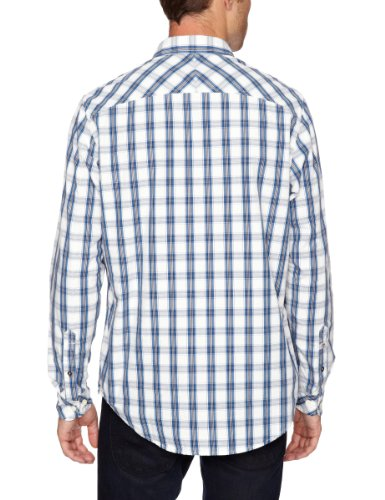 Timberland LS CLAREMONT WINDOWPANE CHECK SHIRT (Blau)
