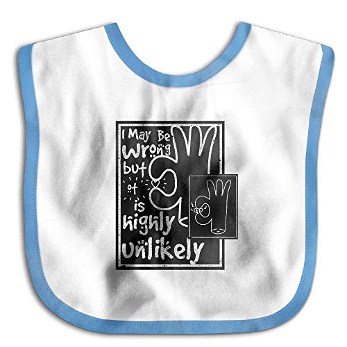 ong But Its Highly Unlikely Waterproof Bib The Baby Bib Practical lovely Baby skin wrap ()