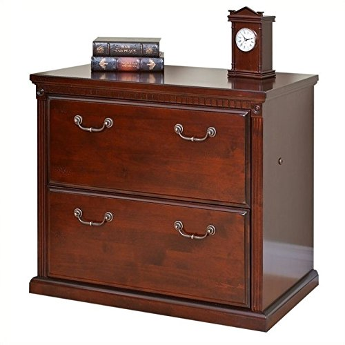 Martin Furniture Huntington Club Office File Cabinet, 2 Drawer Lateral