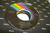 ELTON JOHN 45 RPM Young Man's Blues / Goodbye Yellow Brick Road
