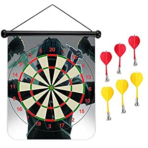 Cool Vincent's Two Swords 3D Printed Magnetic Dart Board