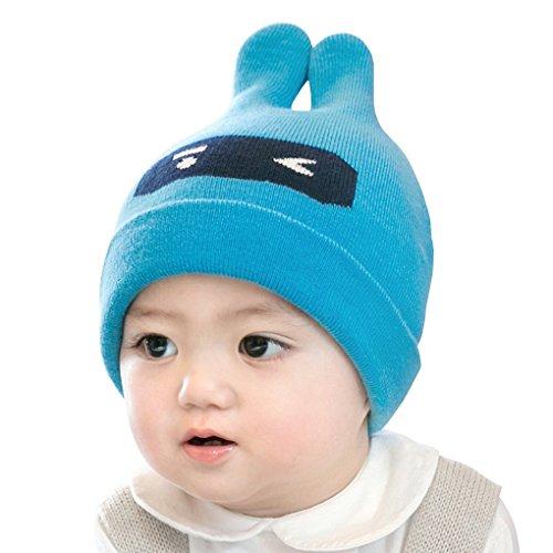 hot Infant Toddler Winter Warm Caps Baby Girl Boy Beanie Cotton Hat Children Knitted Hat supplies