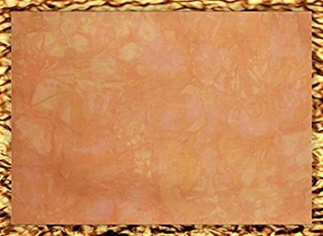 Bronzed Hand-Dyed 11 Count Aida Cloth Cross-Stitch Fabric 17 x 19