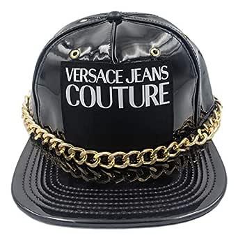 Versace Jeans Couture - Gorra Negra de Vinilo E8GUBK07 25087 ...