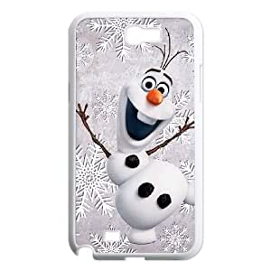 Samsung Galaxy N2 7100 Cell Phone Case White Olaf Frozen C6Y1ZS