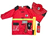 Dress Up America Fire Fighter Rol E Play Dressup Set Fire Fighter Role Play Dressup Set