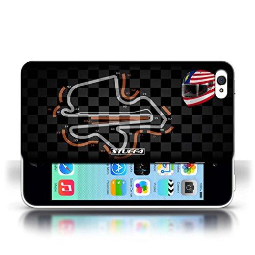 Etui / Coque pour Apple iPhone 5C / Malaisie/KualaLumpur conception / Collection de 2014 F1 Piste