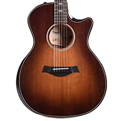 6-string Acoustic-electric Guitar with Torrefied Sitka Spruce Top, Figured Bigleaf Maple Back and Sides, Mahogany Neck, Ebony Fingerboard, and Taylor ES2 Electronics - Natural