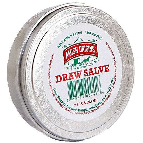 Amish Origins Draw Salve Ointment, 2 Ounce