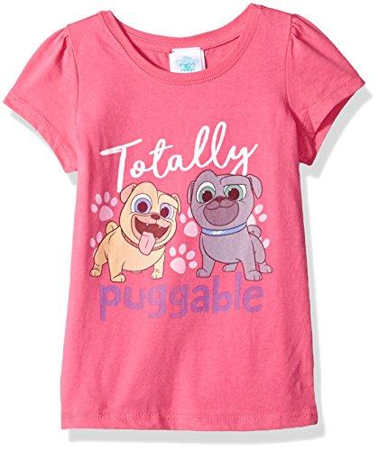 Jual Disney Girls Toddler Puppy Dog Pals Puff Short Sleeve T Shirt