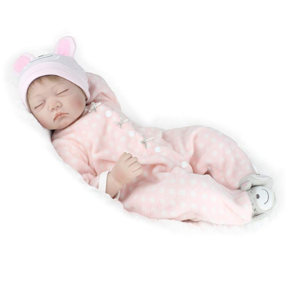 Kids Beach Toys Sleeping Newborn Baby Doll Cute Lifelike With Clothes Hat Shoes Rewborn Nursery Baby Alive Realistic Doll Baby Toddlers Infants Girls Boys Gift Set Pretend Role Play Kids Toys Toys Car