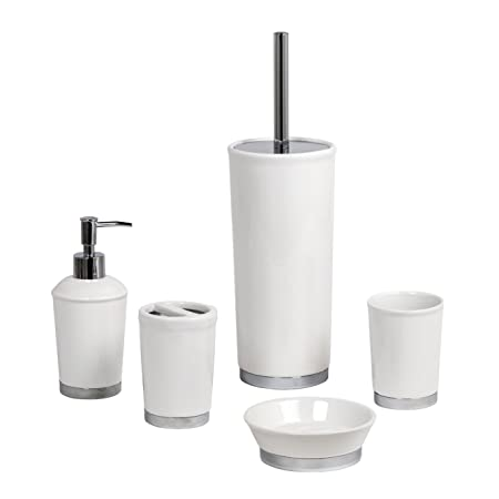 Asien Modern 4 Piece Bathroom Accessories Set Ceramic Soap Dispenser on white ceramic light switch covers, white ceramic bakeware, white ceramic showers, white ceramic bathroom sink, white ceramic towel rod, white ceramic bathroom fixtures, white bathroom accessory sets, white ceramic bathtub, white ceramic undermount kitchen sink, white ceramic bathroom faucets, white ceramic toilet paper holder, white ceramic toothbrush holder, white ceramic decor, white ceramic clocks, white ceramic dinnerware, white ceramic soap dispensers, white ceramic tile, white ceramic cookware set, white ceramic bathroom hardware, white ceramic flower vase,