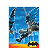 Amscan Awesome Batman Birthday Party Plastic Table Cover Supplies (6 Piece)