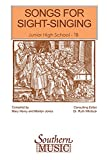 img - for Songs For Sight Singing Junior High School Tenor-Bass book / textbook / text book