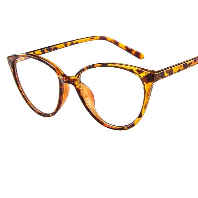 71e7335a28df2 Mymyguoe Vidrios opticos Gafas polarizadas para Mujer Gafas con Montura de  Espejo Vintage con Montura de