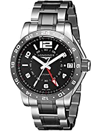 Mens L36694567 Admiral Analog Display Swiss Automatic Silver Watch. Longines