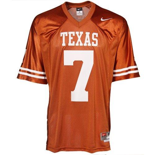 Garrett Gilbert Texas Longhorns '10 NIKE SEWN Jersey - Jerseys Texas Nike