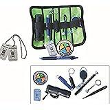 GEO-VERSAND 11 teiliges Geocaching Anfänger Set - Basic mit Tasche, mehrfarbig, One Size, 10185