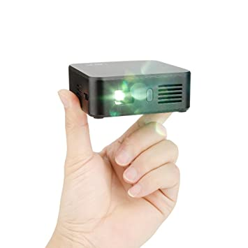 Ligh twish - Negro Wifi DLP Mini Wireless Projector Home Cinema ...