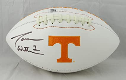 on sale e7ebf 95a50 Jason Witten Autographed Tennessee Volunteers Logo Football ...