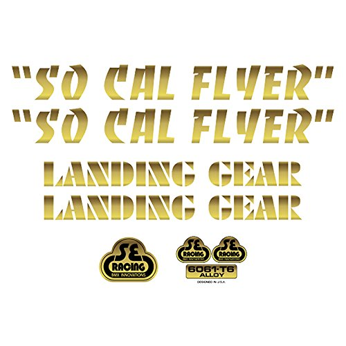 SE Bikes So Cal Flyer Decal Set null GOLD