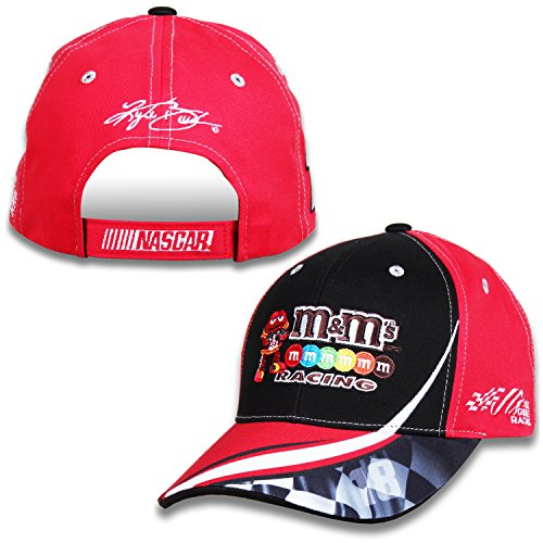 nascar-adult-drivers-salute-racing-hat-cap-18-kyle-busch