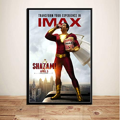 haoxinbaihuo Shazam New DC Superheroes Movie Art Pintura ...