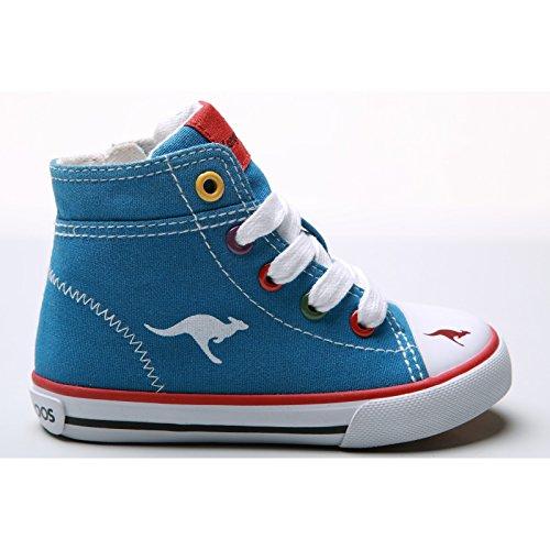 KangaRoos - Zapatillas Modelo Vulc 2036 para niños/infantes Negro