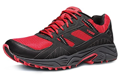 Tesla TF-T330-RDK_Men 7.5 D(M) Men's Outdoor Sneakers Trail Running Shoe T330