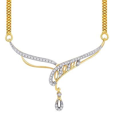 Buy asmi 18k yellow gold diamond mangalsutra pendant online at low asmi 18k yellow gold diamond mangalsutra pendant aloadofball Choice Image