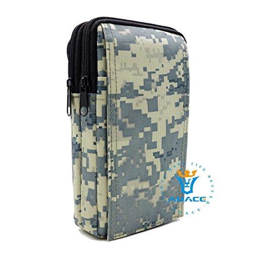 Multifunktions Survival Gear Tactical Beutel MOLLE POUCH Service Bag, Outdoor Camping Tragbare Travel Bags Handtaschen Werkzeug Taschen Waist Bag Handy Pouch ACU