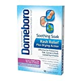 Domeboro Astringent Solution Powder Packets - 12 packets, Pack of 2