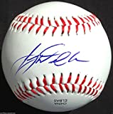 TAIJUAN WALKER SIGNED OL BASEBALL SEATTLE MARINERS 1ST RD PICK PROOF COA K6
