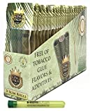 Bundle - 25 Items - King Palm Slim Cones (24 Packs/Full Box) with Hippie Butler XL Doob Tube