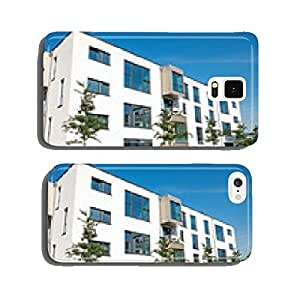 Modern white apartment house cell phone cover case Samsung S5