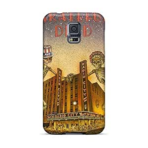 Samsung Galaxy S5 LyQ3986TSfC Unique Design Trendy Grateful Dead Band Pictures Great Hard Cell-phone Cases -KevinCormack