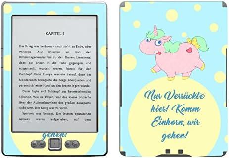 Disagu SF de 103567 _ 996 Diseño Protector de Pantalla para Amazon Kindle 4 eReader, diseño Sólo verrückte Unicornio Transparente: Amazon.es: Informática