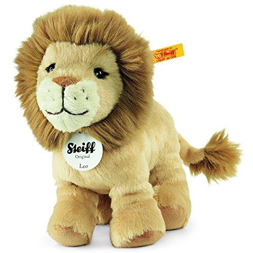 Steiff Leo Lion Plush, Beige