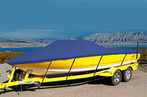 7oz Solution Dyed Polyester Material Custom Exact FIT Boat Cover SEA RAY 220 SUNDECK I/O 2006-2009 ()