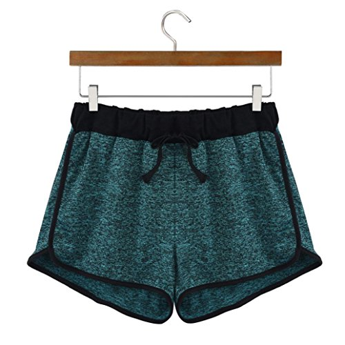 SANFASHION Shorts Damen Pantaloncini Verde Hosen Donna Pr6wHPq