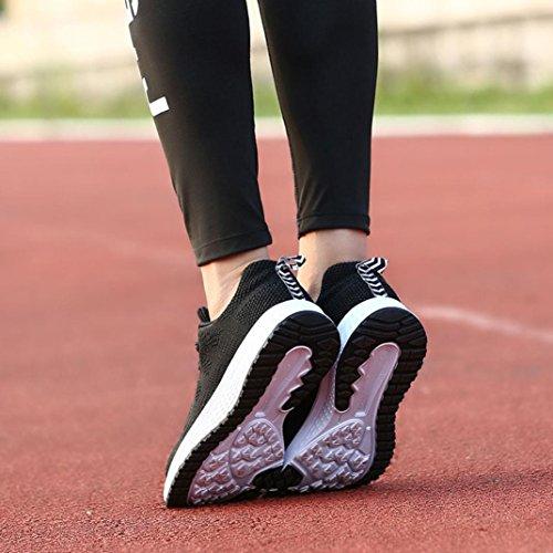 Exterior De Mujer Sneakers Zapatillas Zapatos Negro Casual 40 Logobeing 35 Deportivo Calzado Deportivas Running Yoga nxPqwdE