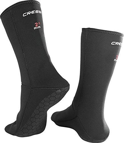 Cressi Anti-Slip Socks 2.5mm, black, L