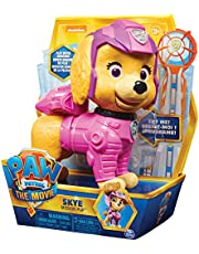 Paw Patrol Interactieve 15 cm grote Skye Mission pup-figuur uit de bioscoopfilm, met geluidseffecten, vanaf 3 jaar